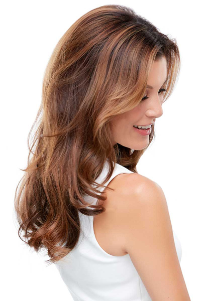 Easicrown Human Hair 18 inch Topper
