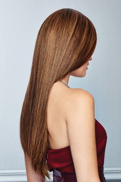 Glamour And More by Raquel Welch in Shaded Hazelnut - back