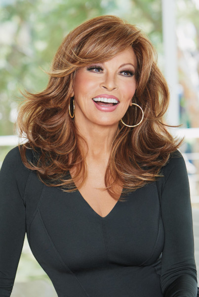 Curve Appeal by Raquel Welch in Rusty Auburn - Front