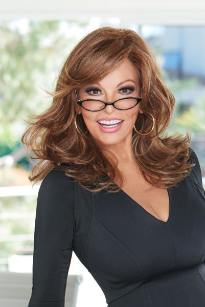 Curve Appeal by Raquel Welch in Rusty Auburn - Front1