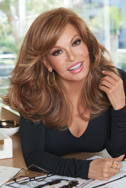 Curve Appeal by Raquel Welch in Rusty Auburn - Front2