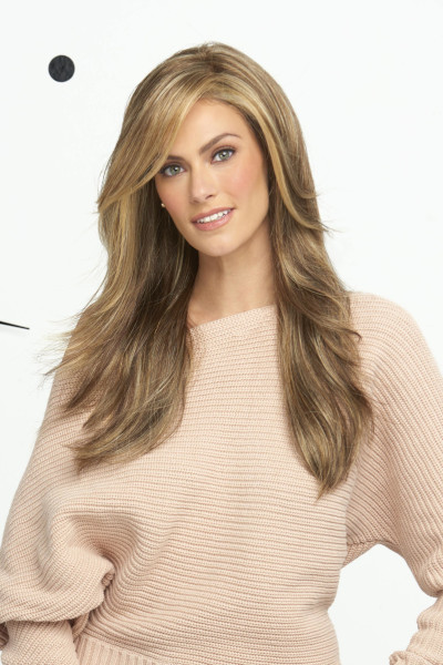 Miles of Style by Raquel Welch in Glazed Mocha - Front