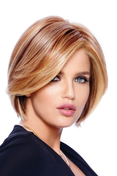 Straight Up With a Twist by Raquel Welch in Golden Russet - Quarter