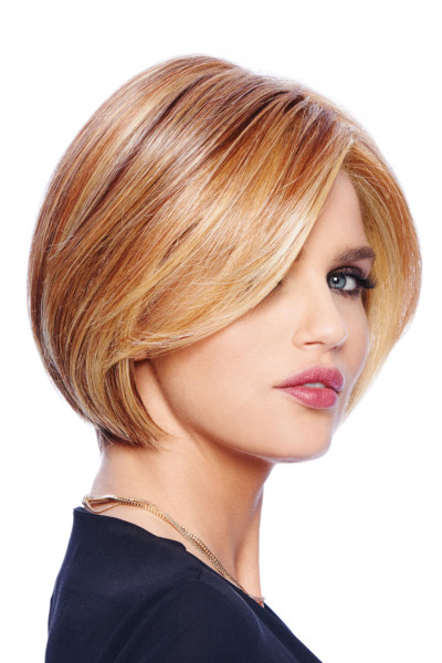 Straight Up With a Twist by Raquel Welch in Golden Russet - Quarter1