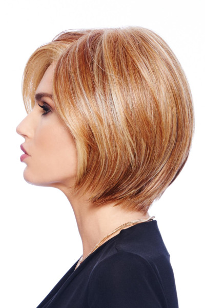 Straight Up With a Twist by Raquel Welch in Golden Russet - side