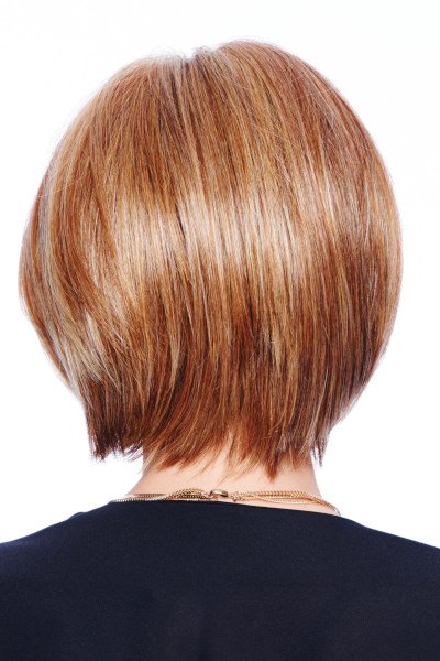 Straight Up With a Twist by Raquel Welch in Golden Russet - back