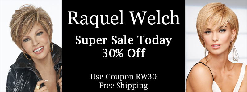 Raquel Welch Super Sale Banner